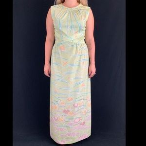 70s Andrea Gayle Maxi Dress